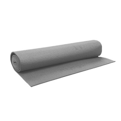 Pilates / Yoga Mat Grey 173cm x 60cm x 3.5mm