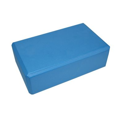 Pilates / Yoga Block Blue 22.5cm x 13.5cm x 7.5cm