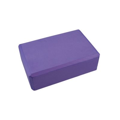 Pilates / Yoga Block Purple 22.5cm x 13.5cm x 7.5cm